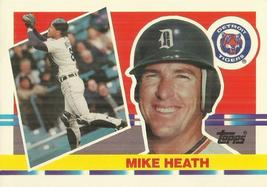 1990 Topps Big #166 Mike Heath	 - $0.50