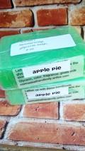 apple pie soap, bath, beauty, glycerin soap, ha... - $5.00