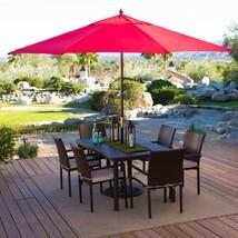 Outdoor Patio Umbrella Home Deck Backyard Pool ... - $124.09