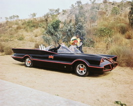 Batman Batmobile  Adam West Burt Ward MM1 11X14 Color TV Memorabilia Photo - $12.95