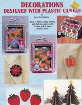 Decorations Designed with Plastic Canvas PATTERN Coasters, Pictures, Orn... - $2.67