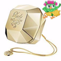 Paco Rabanne Lady Million fragrance Solid Perfume Compact bracelet jewelry - $49.99