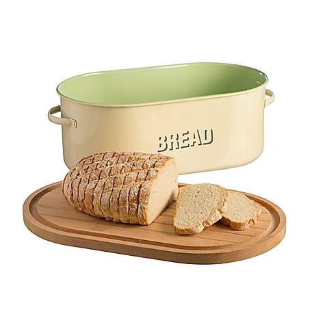 Typhoon® Vintage Bread Box in Cream