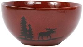 DEI Woodland Moose Stoneware Bowl, 6-Inch - $16.38