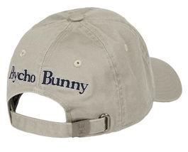 Psycho Bunny Men's Cotton Embroidered Strapback Sports Baseball Cap Hat image 13