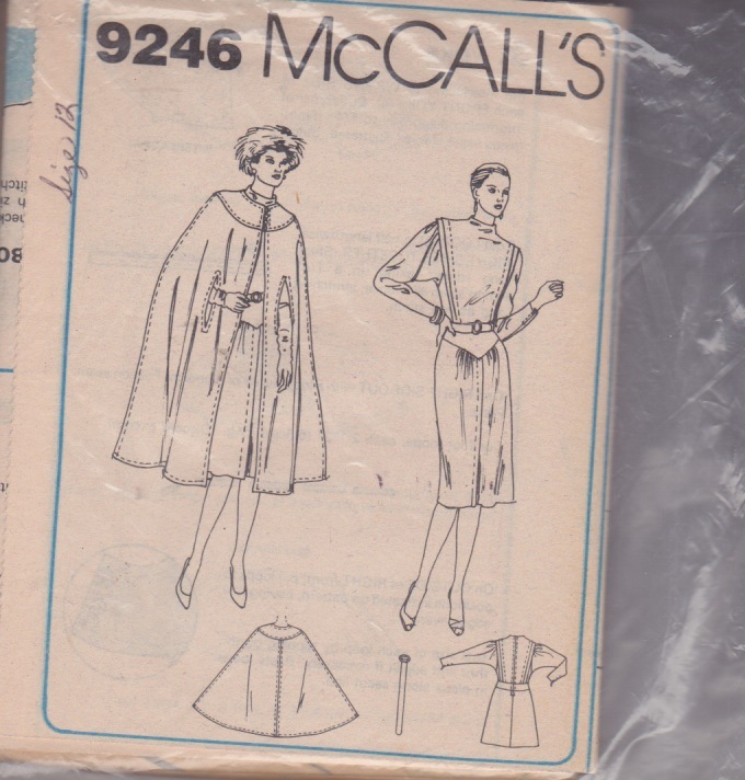 McCalls 9246 Dynasty Inspired Cloak and and 50 similar items