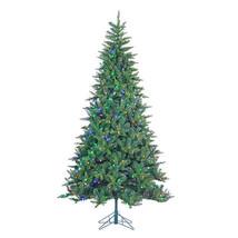 Gerson Company 7.5' LED Cascade Fir Pre-lit Christmas Tree w/Power Pole ... - $400.99