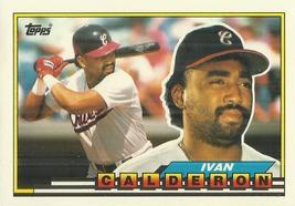 1989 Topps Big #289 Ivan Calderon - $0.50