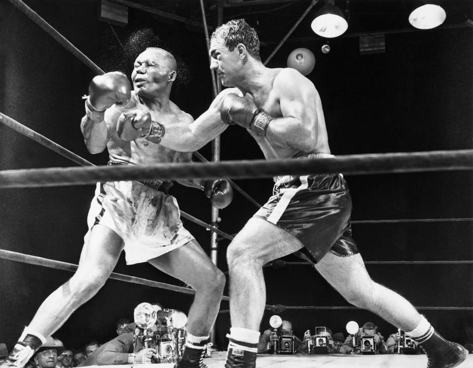 Rocky Marciano Jersey Joe Walcott TKK Vintage 11X14 Boxing Memorabilia Photo - $14.95