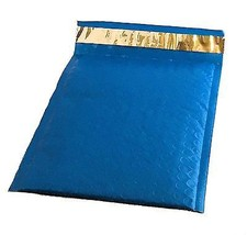 10 6x10 BLUE Poly Bubble Mailer Envelope Shipping Wrap Air Mailing Bags ... - $7.49