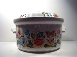 Aynsley HyStyles Oven to Tableware Floral Design Covered Casserole Dish - $19.79