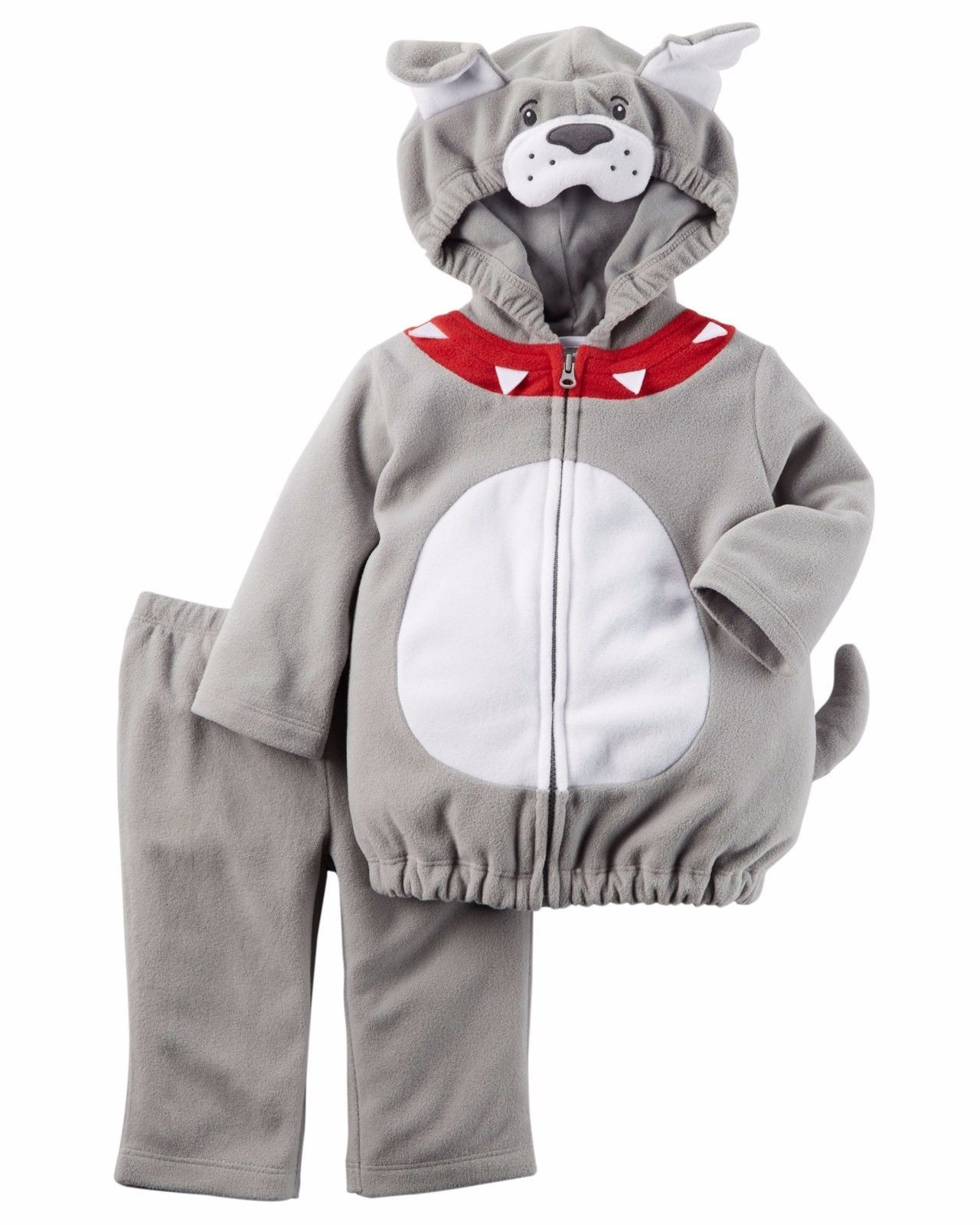 NEW NWT Boys Carter's Halloween Bulldog Costume 12 Months 2 Piece Dog