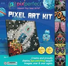 Pix Perfect Pixel Art Kit for Fans of Pixel Art, Perler Beads, Crafts or... - $44.95