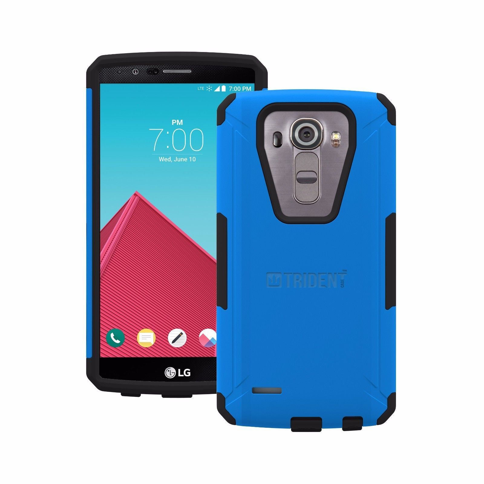 Trident Cell Phone Case LG G4 Blue smartphone Aegis Smart Phone Cover ...