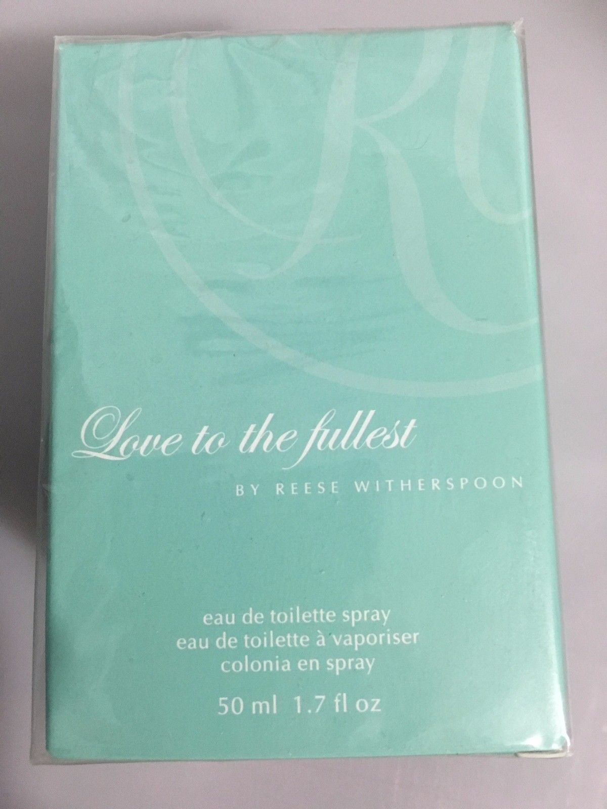 Reese Witherspoon Love to the Fullest Eau de Toilette Spray 1.7 oz 50ml Avon NEW