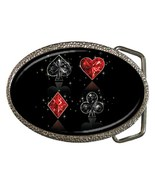 Card Suite Belt Buckle - $19.95