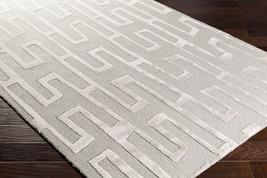 "5x8 (5' x 7'6"") Contemporary Designer Modern Wool Art Silk Gray Taupe Area Rug - $411.00"