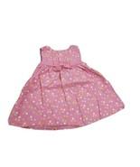 Gymboree Dress Pink With Pot A Dot Girls 12-18 Mos - $9.80