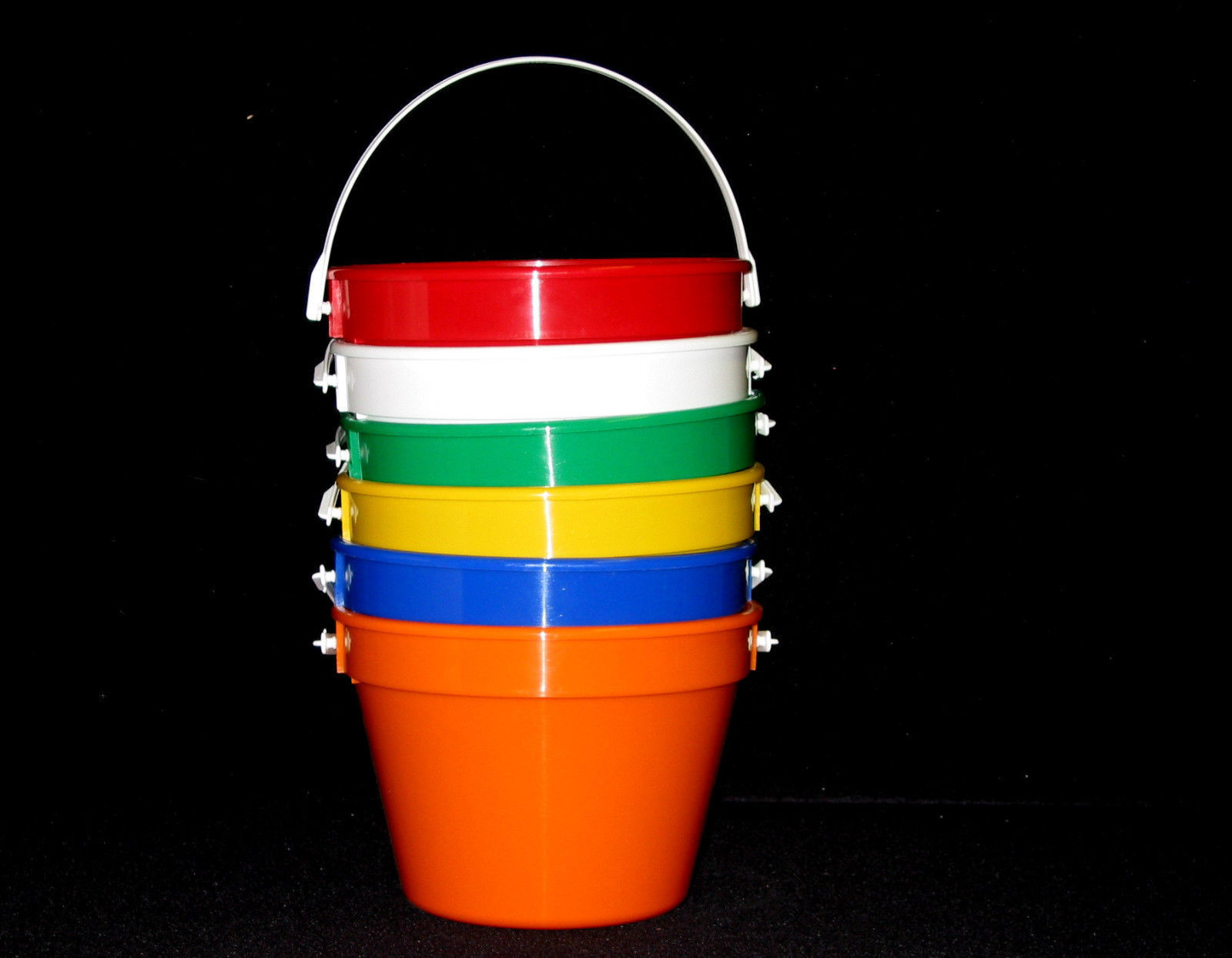 """12 Flyers Mix of Colors 9 1//4/"""" Diameter Made in America Lead Free Top Quality"""
