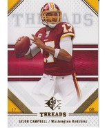 Jason Campbell 2009 Upper Deck SP Threads Card #45 - $0.99