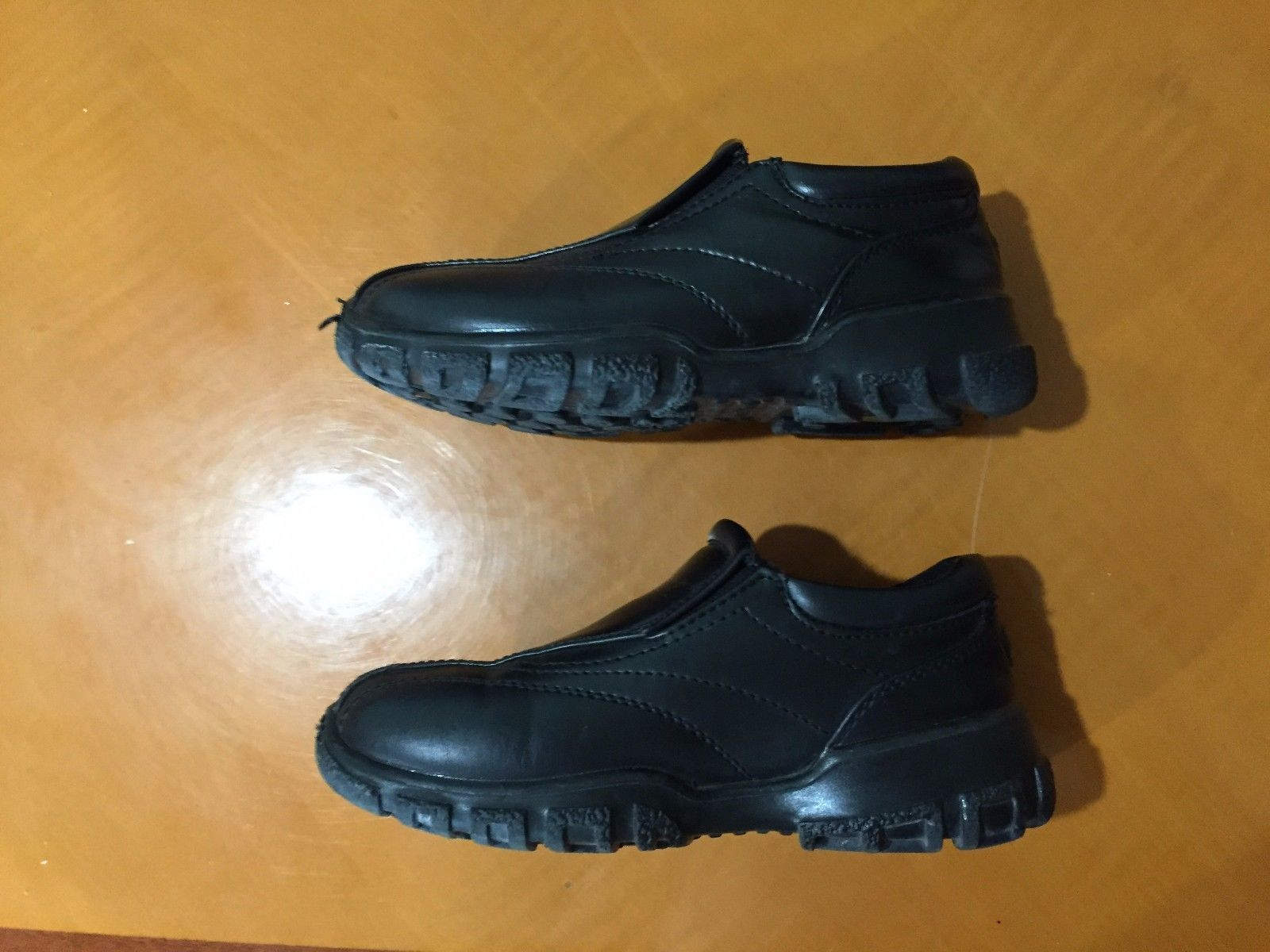 ac0743a73b594 Kids Boys Deer Stag Black Slip On Shoes Loafers Size 12M 12 Medium