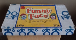 Vintage 1987 Funny Face Co-Operative Children's Board Game - $11.00