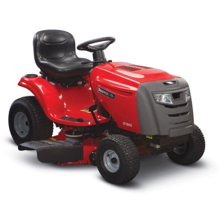 Snapper 42 Cut 18.5HP Riding Lawn Mower Red Grass Cast Iron Durable