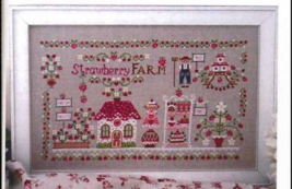 Strawberry Farm cross stitch chart Cuore e Batticuore  - $12.60