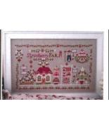 Strawberry Farm cross stitch chart Cuore e Batticuore  - $12.60