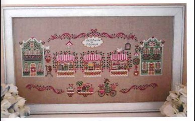 Primary image for Petit Marche de Printemps cross stitch chart Cuore e Batticuore