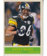 Hines Ward 2009 Upper Deck Philadelphia Card #152 - $0.99