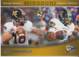 Chase Daniel/Jeremy Maclin 2009 Press Pass Teammates Card #94 - $0.99