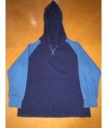 Kids Boys Wrangler Jeans Co. Blue Long Sleeve Shirt w Hood Light Hoodie ... - $8.90