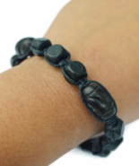 Black Wooden Unisex Bracelet for Mens - $27.90