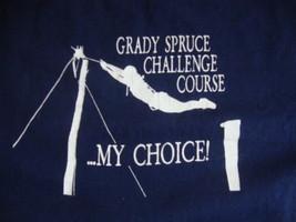 Vintage Dr. Pepper 7UP Grady Spruce Challenge Blue T Shirt Mens Size L - $16.82