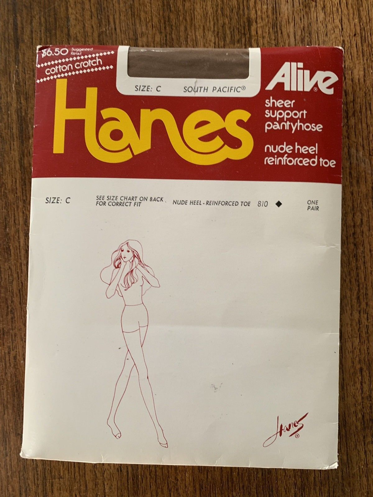 5ce358ead1a Vintage Hanes Alive Pantyhose Control and 30 similar items. S l1600