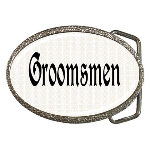 Groomsmen Belt Buckle