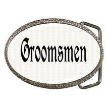 Groomsmen Belt Buckle - $19.95