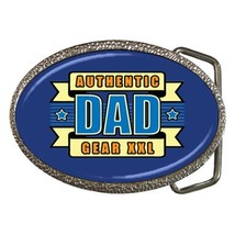 Authentic Dad Gear Belt Buckle - $19.95
