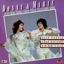 Donny & Marie: Songs From Their TV Show vinyl LP - condition: very good - $9.35