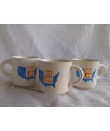 Lot of 3 Mid Am Advertising Blue and Dark Yello... - $19.99