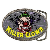 Killer Clown Belt Buckle - $19.95
