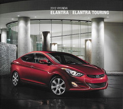 2012 Hyundai ELANTRA sales brochure catalog 12 US TOURING GLS SE - $6.00