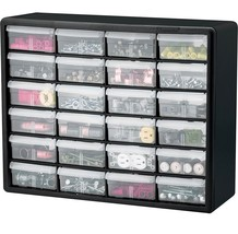 Storage Organizer Cabinet Beads Craft Screws Nails Nuts Bolts Parts Lego... - $47.95