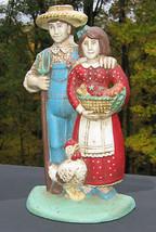 Cast Iron Door Stop Farmer's Wife Midwest Impor... - $39.59