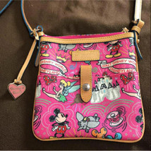 Disney dooney & brooks shoulder bag Disney World Pattern Mickey Pouch - $446.49