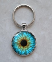 Blue Human Eye Eyeball Pupil Keychain - $14.00+
