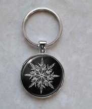 Snowflake Snow Winter Frozen Ice Keychain - $14.00+