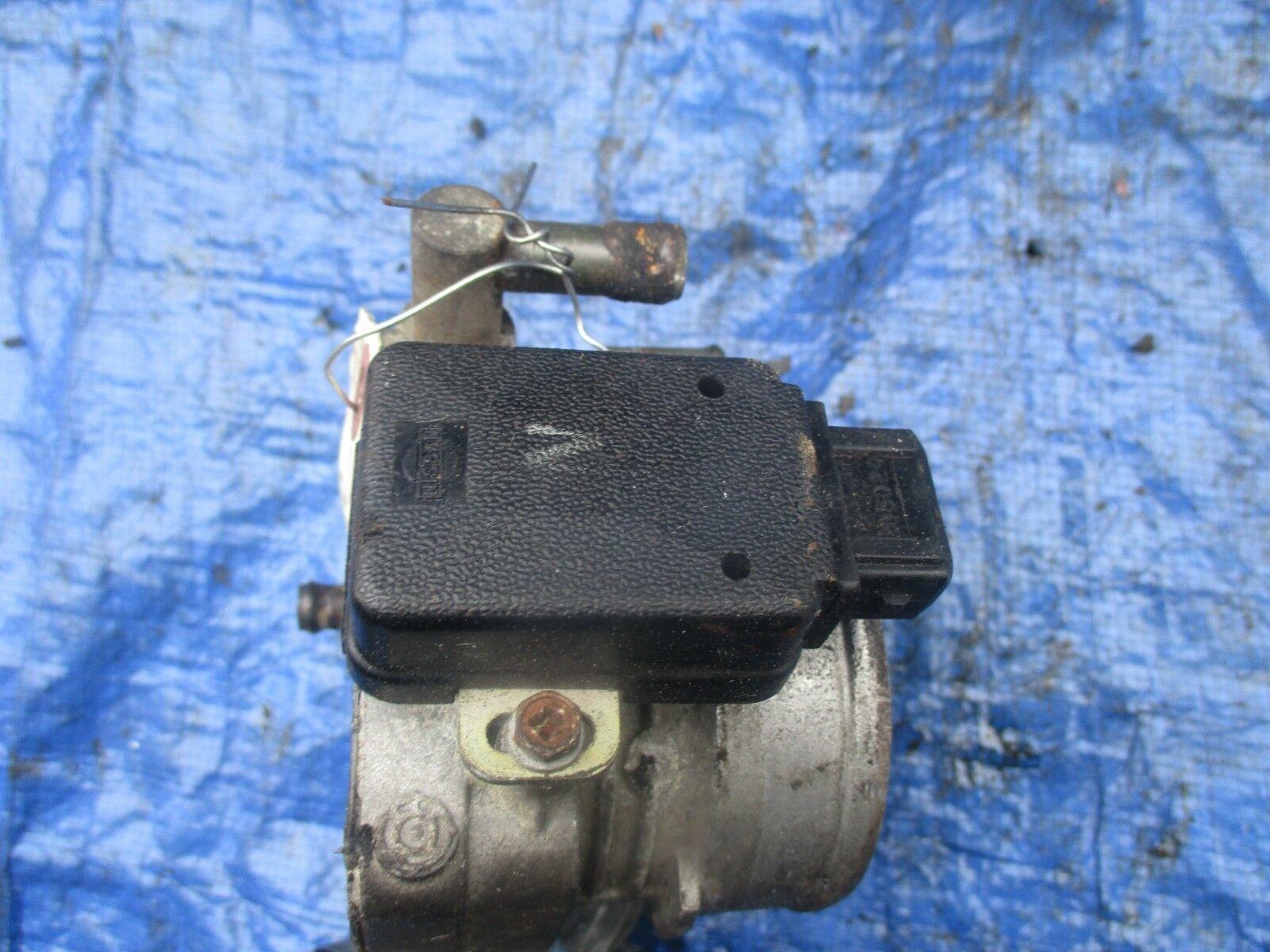 1986 Nissan 300ZX turbo VG30ET V6 OEM throttle body assembly engine motor tps