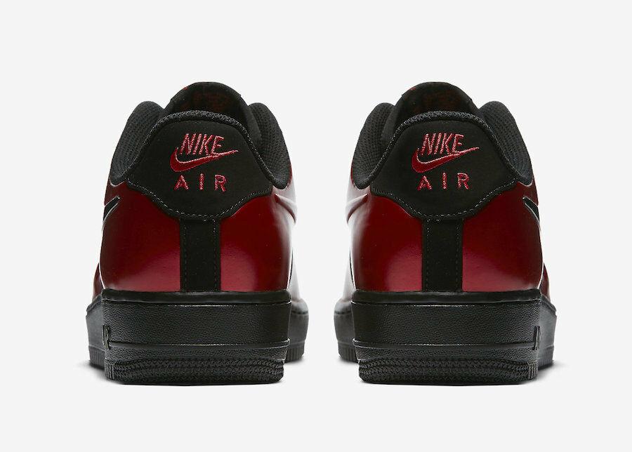 best website e5ac0 1fa72 Nike Air Force 1 Foamposite Pro Cupsole Cough Drop AJ3664-601 Red Black Size